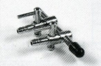 5 x Mini Luftventil  2 - Weg - Ventil