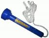 Schwimmthermometer analog, Farbe blau mit Befestigungsschnur