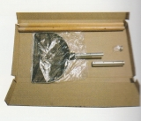 OSAGA Koi-Kescher mit Holzgriff, zerlegbar 3-teilig, Ø 50 x 210 eckig