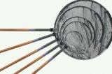 Japankescher mit Holzstiel Länge 2 x 150 cm, Ø 80 cm rund