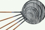 Japankescher mit Holzstiel Länge 2 x 150 cm, 3m Ø 100 cm rund