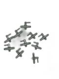 10 x Luftventil, Lufthahn, Lufthähnchen Metall für Luftschlauch